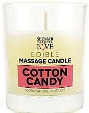 """Parfüm, Parfüméria, kozmetikum Természetes masszázs gyertya """"Cotton candy"""" - Sezmar Collection Cotton Candy"""