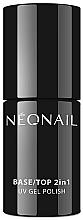 Parfüm, Parfüméria, kozmetikum Top gél-lakk 2 az 1 -ben - NeoNail Professional Base/Top 2in1 UV Gel Polish