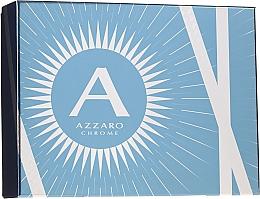 Parfüm, Parfüméria, kozmetikum Azzaro Chrome - Szett (edt/100ml + shm/100ml + ash/balm/50ml)