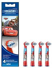 Parfüm, Parfüméria, kozmetikum Elektromos gyerek fogkefe pótfej EB10-4, autó minta - Oral-B Stages Power Disney