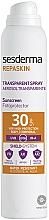Parfüm, Parfüméria, kozmetikum Napvédő testpermet - SesDerma Laboratories Repaskin DNA Repair Spray Transparente SPF30