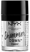 Parfüm, Parfüméria, kozmetikum Pigment szemre - NYX Professional Make Up Shimmer Down Pigment