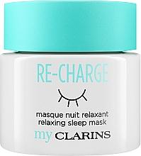 """Parfüm, Parfüméria, kozmetikum Éjszakai arcmaszk """" Relax"""" - Clarins My Clarins Re-Charge Relaxing Sleep Mask"""