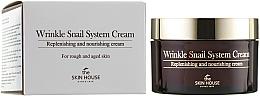 Parfüm, Parfüméria, kozmetikum Öregedésgátló tápláló krém csigamucinnal - The Skin House Wrinkle Snail System Cream