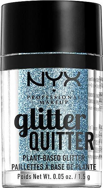 Arc és test glitter - NYX Professional Makeup Glitter Quitter Plant-Based Glitter