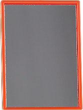 Parfüm, Parfüméria, kozmetikum Kompakt téglalap tükör narancssárga keretben - Donegal Mirror