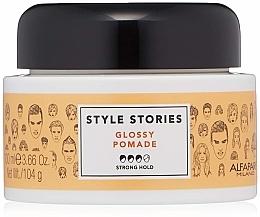 Parfüm, Parfüméria, kozmetikum Erősen fixáló pomádé - Alfaparf Milano Style Stories Glossy Pomade Strong Hold