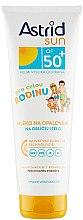 Parfüm, Parfüméria, kozmetikum Napvédő tej SPF 50 - Astrid Sun Family Milk SPF 50