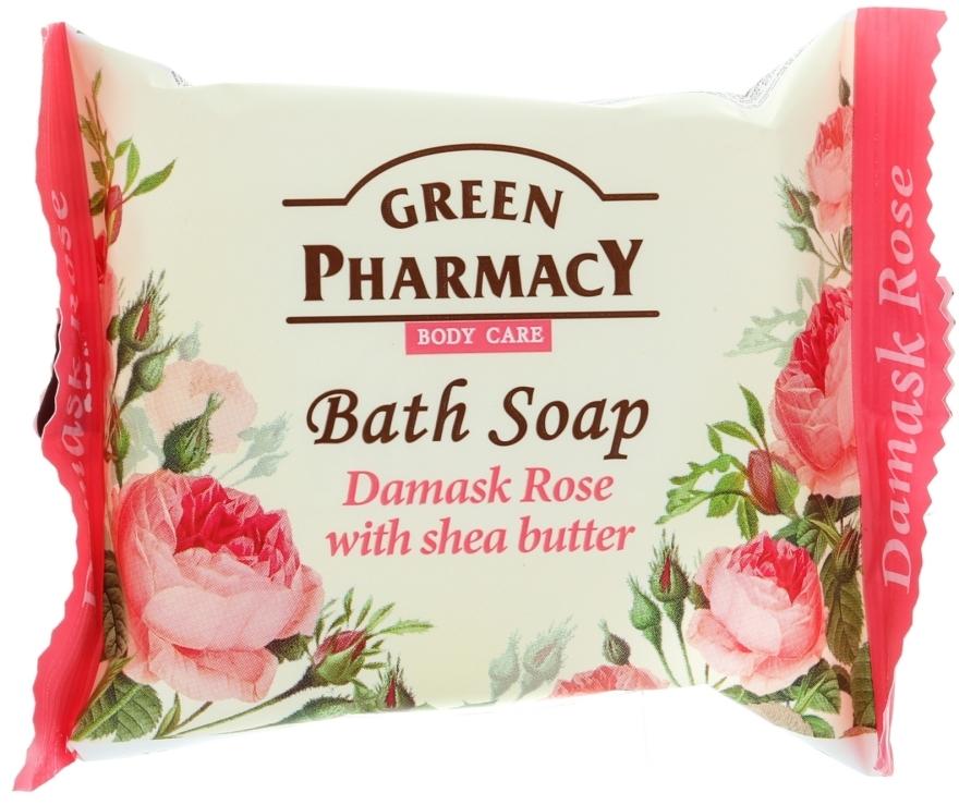 """Szappan """"Damaszkuszi rózsa és shea olaj"""" - Green Pharmacy"""