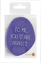 Parfüm, Parfüméria, kozmetikum Hajfésű, lila - Beauty Look Tangle Definer Petite Violet
