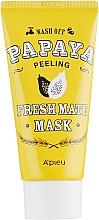 """Parfüm, Parfüméria, kozmetikum Tisztító, világosító peeling-maszk """"Papaya"""" - A'pieu Fresh Mate Mask"""