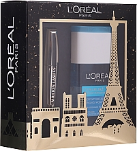 Parfüm, Parfüméria, kozmetikum Szett - L'oreal Paris Make-up Set (mascara/10.7ml + demaquillant/125ml)