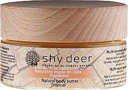 Parfüm, Parfüméria, kozmetikum Testvaj - Shy Deer Natural Body Butter