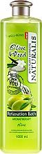 Parfüm, Parfüméria, kozmetikum Fürdőhab - Naturalis Olive Wood Relaxation Bath