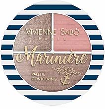 Parfüm, Parfüméria, kozmetikum Arcformázó paletta - Vivienne Sabo Mariniere Palette Contouring