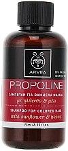 Parfüm, Parfüméria, kozmetikum Sampon napraforgóval és mézzel - Apivita Propoline Shampoo For Colored Hair