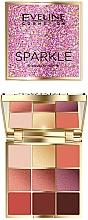 Parfüm, Parfüméria, kozmetikum Szemhéjfesték paletta - Eveline Cosmetics Sparkle