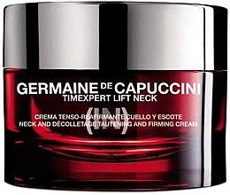 Parfüm, Parfüméria, kozmetikum Nyak és dekoltázs krém lifting hatással - Germaine de Capuccini TimExpert Lift (In)