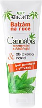 Parfüm, Parfüméria, kozmetikum Kézápoló balzsam - Bione Cosmetics Cannabis Hand Balm