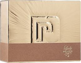 Parfüm, Parfüméria, kozmetikum Paco Rabanne Lady Million - Szett (edp/80ml + b/lot/100ml)