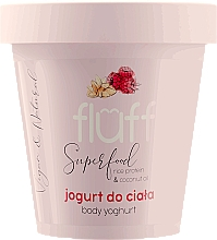 "Parfüm, Parfüméria, kozmetikum Joghurt testre ""Málna és mandula"" - Fluff Body Yogurt Raspberries and Almonds"