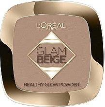 Parfüm, Parfüméria, kozmetikum Arcpúder - L'Oreal Paris Glam Beige Healthy Glow Powder