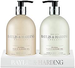 Parfüm, Parfüméria, kozmetikum Szett - Baylis & Harding Royal Bouquet Jojoba, Silk and Almond Oil (b/lot/500ml + soap/500ml)