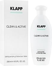 Parfüm, Parfüméria, kozmetikum Hámlasztó zsíros bőrre - Klapp Clean & Active Exfoliator Oily Skin