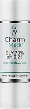 Parfüm, Parfüméria, kozmetikum Glikolsav 70% - Charmine Rose Charm Medi GLY 70% pH 0.25