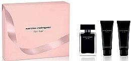Parfüm, Parfüméria, kozmetikum Narciso Rodriguez For Her - Készlet (edt/50ml + b/lot/75ml + sh/gel/75ml)