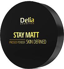Parfüm, Parfüméria, kozmetikum Kompakt mattító púder - Delia Stay Matt Skin Defined Pressed Powder
