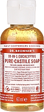 "Parfüm, Parfüméria, kozmetikum Folyékony szappan ""Eukaliptusz"" - Dr. Bronner's 18-in-1 Pure Castile Soap Eucalyptus"