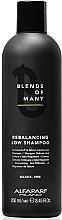 Parfüm, Parfüméria, kozmetikum Egyensúly helyreállító sampon, szulfátmentes - Alfaparf Milano Blends Of Many Rebalancing Low Shampoo