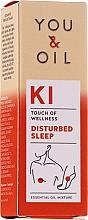Parfüm, Parfüméria, kozmetikum Illóolaj keverék - You & Oil KI-Disturbed Sleep Touch Of Welness Essential Oil