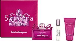 Parfüm, Parfüméria, kozmetikum Salvatore Ferragamo Signorina Ribelle - Szett (edp/100ml +edp/10ml+ b/lot/50ml)