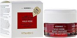 Parfüm, Parfüméria, kozmetikum Nappali arckrém normál és kombinált bőrre - Korres Wild Rose Brightening & First Wrinkles Day Cream