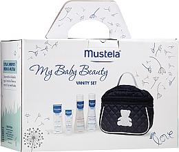 Parfüm, Parfüméria, kozmetikum Szett - Mustela My Baby Beauty Vanity Set (shm/200ml + b/bubble/200ml + cr/40ml + bag)