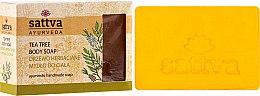 Parfüm, Parfüméria, kozmetikum Szappan - Sattva Hand Made Soap Tea Tree