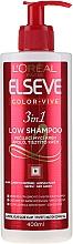 """Parfüm, Parfüméria, kozmetikum Tápláló sampon festet hajra 3 az 1-ben """"Szín szakértő"""" - L'Oreal Paris Elseve Low Shampoo"""
