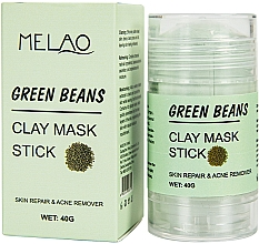 "Parfüm, Parfüméria, kozmetikum Maszk stift arcra ""Green Beans""  - Melao Green Beans Clay Mask Stick"