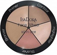 Parfüm, Parfüméria, kozmetikum Sminkpaletta 5 az 1-ben - IsaDora Face Wheel All-In-One