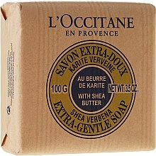 "Parfüm, Parfüméria, kozmetikum ""Karite-tej"" szappan - L'occitane Shea Butter Extra Gentle Soap-Milk"