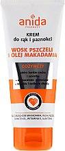 Parfüm, Parfüméria, kozmetikum Kézkrém makadámia olajjal - Anida Pharmacy Hand Cream Macadamia Oil