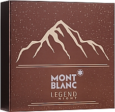 Parfüm, Parfüméria, kozmetikum Montblanc Legend Might - Szett (edp/100ml + ash/balm/100ml + sh/gel/100ml)