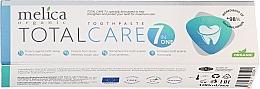 """Parfüm, Parfüméria, kozmetikum Fogkrém """"Komplex ápolás"""" - Melica Organic Toothpaste Total Care 7"""