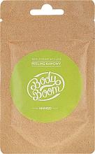 "Parfüm, Parfüméria, kozmetikum Kávés testradír ""Mangó"" - BodyBoom Coffee Scrub Mango"