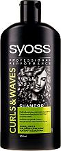 Parfüm, Parfüméria, kozmetikum Sampon hullámos hajra - Syoss Curls & Waves Shampoo