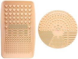 Parfüm, Parfüméria, kozmetikum Ecsettisztító folyadék - Nanshy Makeup Brush Cleaning Pad & Palette