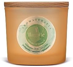 """Parfüm, Parfüméria, kozmetikum Illatgyertya pohárban """"Frissítő"""" - Flagolie Fragranced Candle Refreshing Peace"""