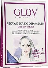 Parfüm, Parfüméria, kozmetikum Sminklemosó kesztyű, lila - Glov Expert Oily and Mixed Skin
